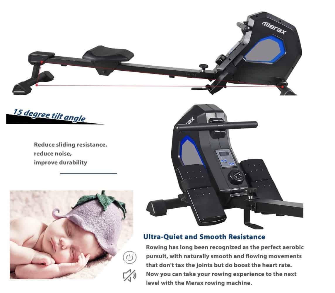 Merax Magnetic Rower Resistance
