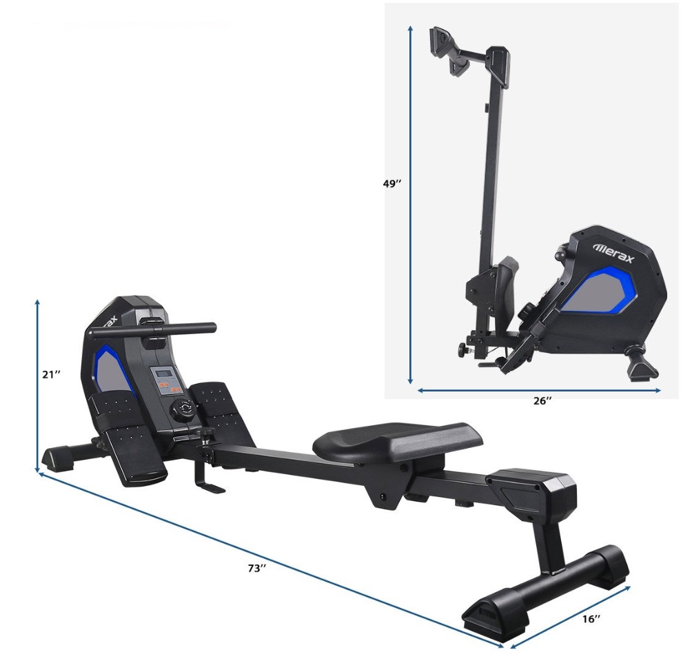 Merax Magnetic Rowing Machine Capacity