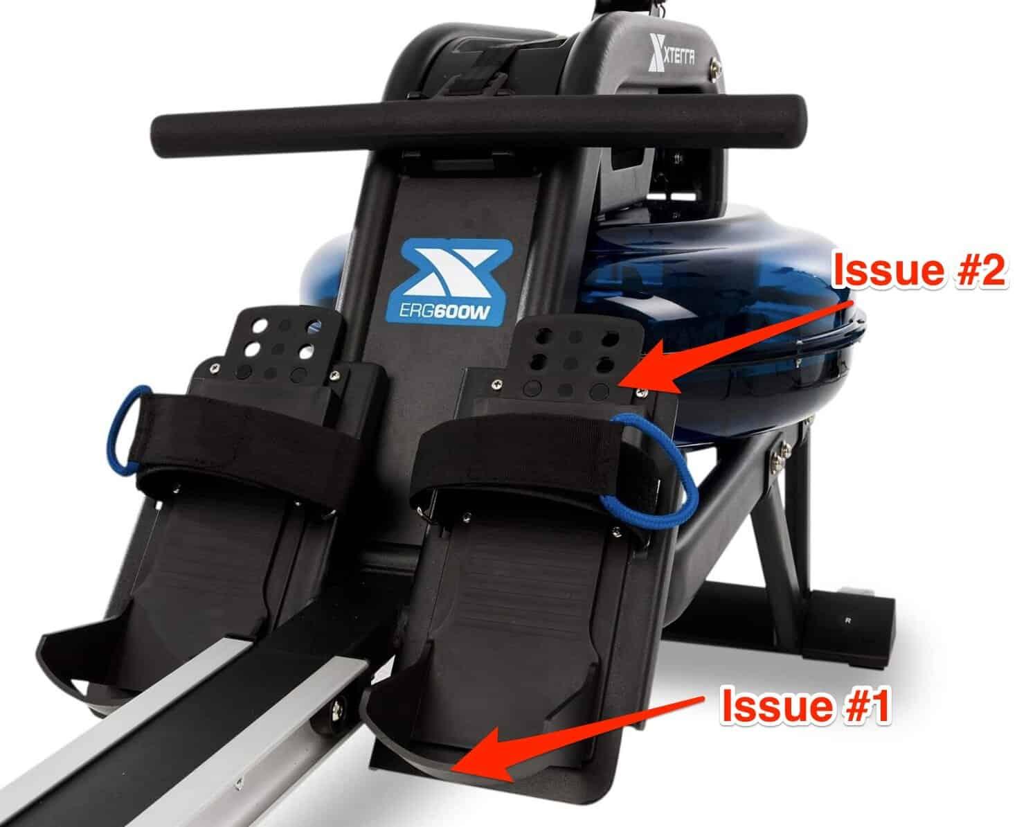 XTERRA ERG600 Quality Issue