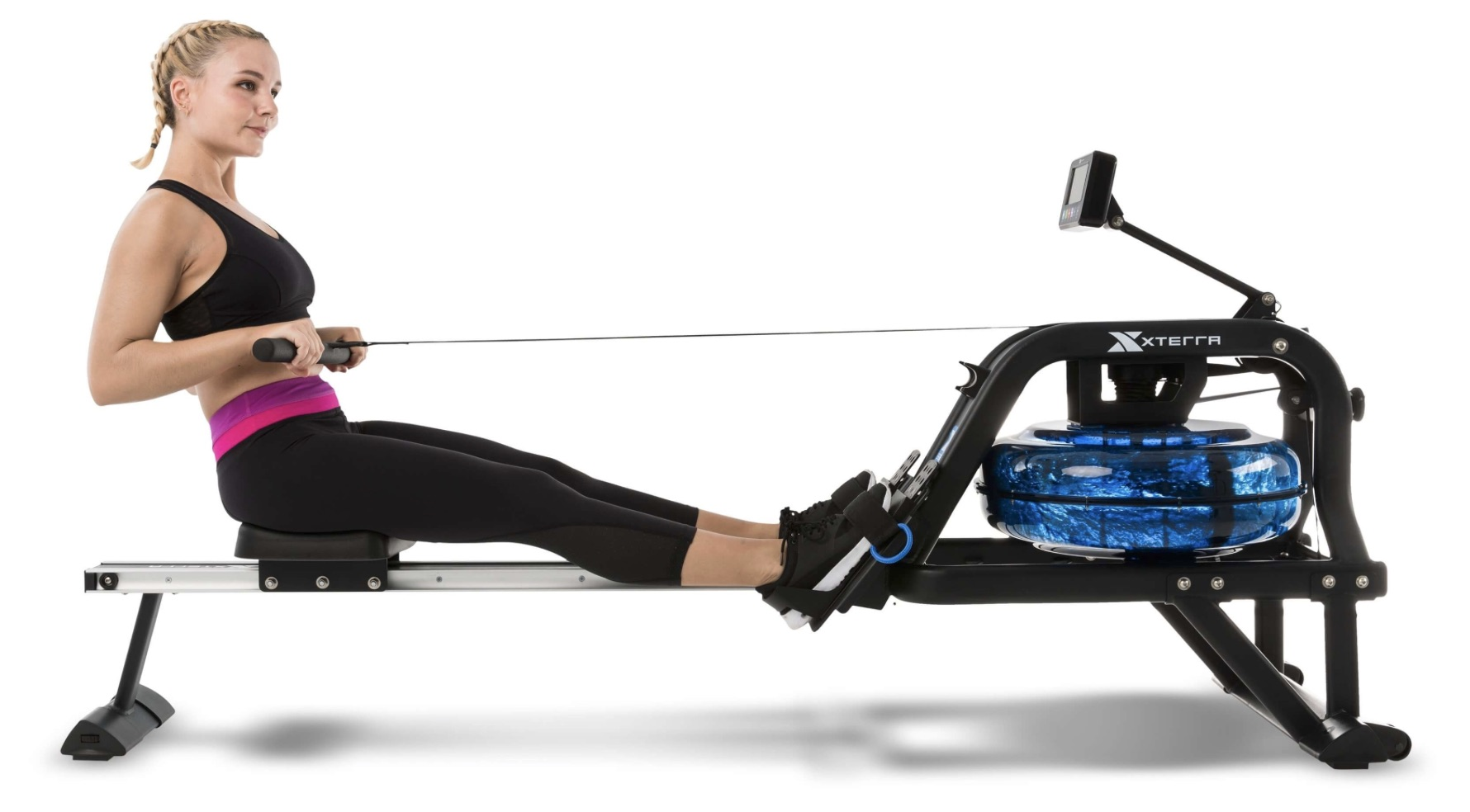 XTERRA Fitness ERG600W Water Rower Capacity