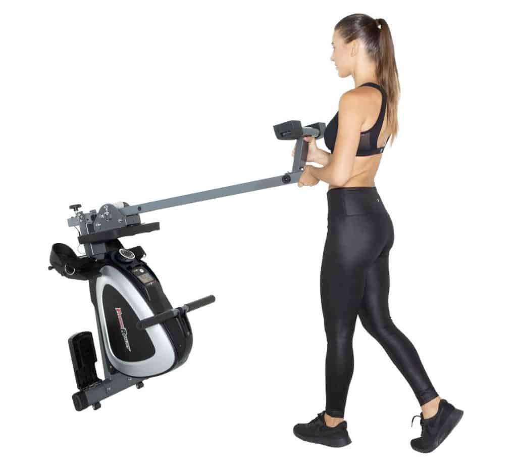 Fitness Reality 1000 Plus Rower Storage