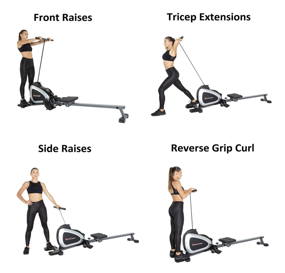 Fitness Reality Rower Additional Exercises