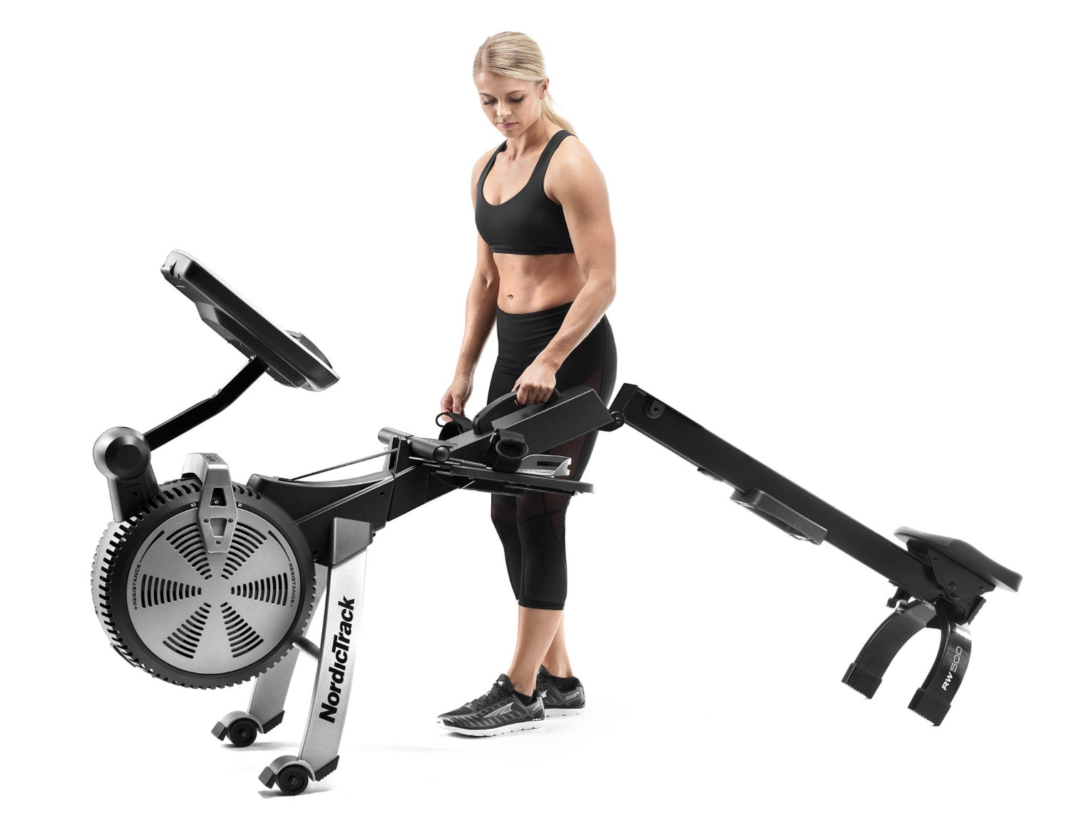 NordicTrack RW500 Rower Folding