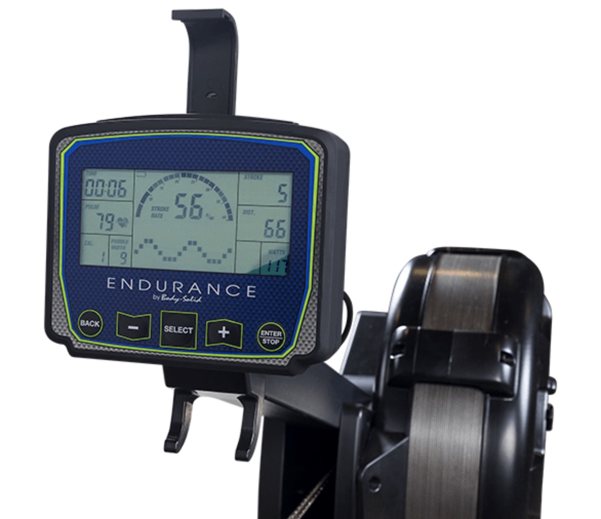 Body Solid Endurance R300 Rower Monitor