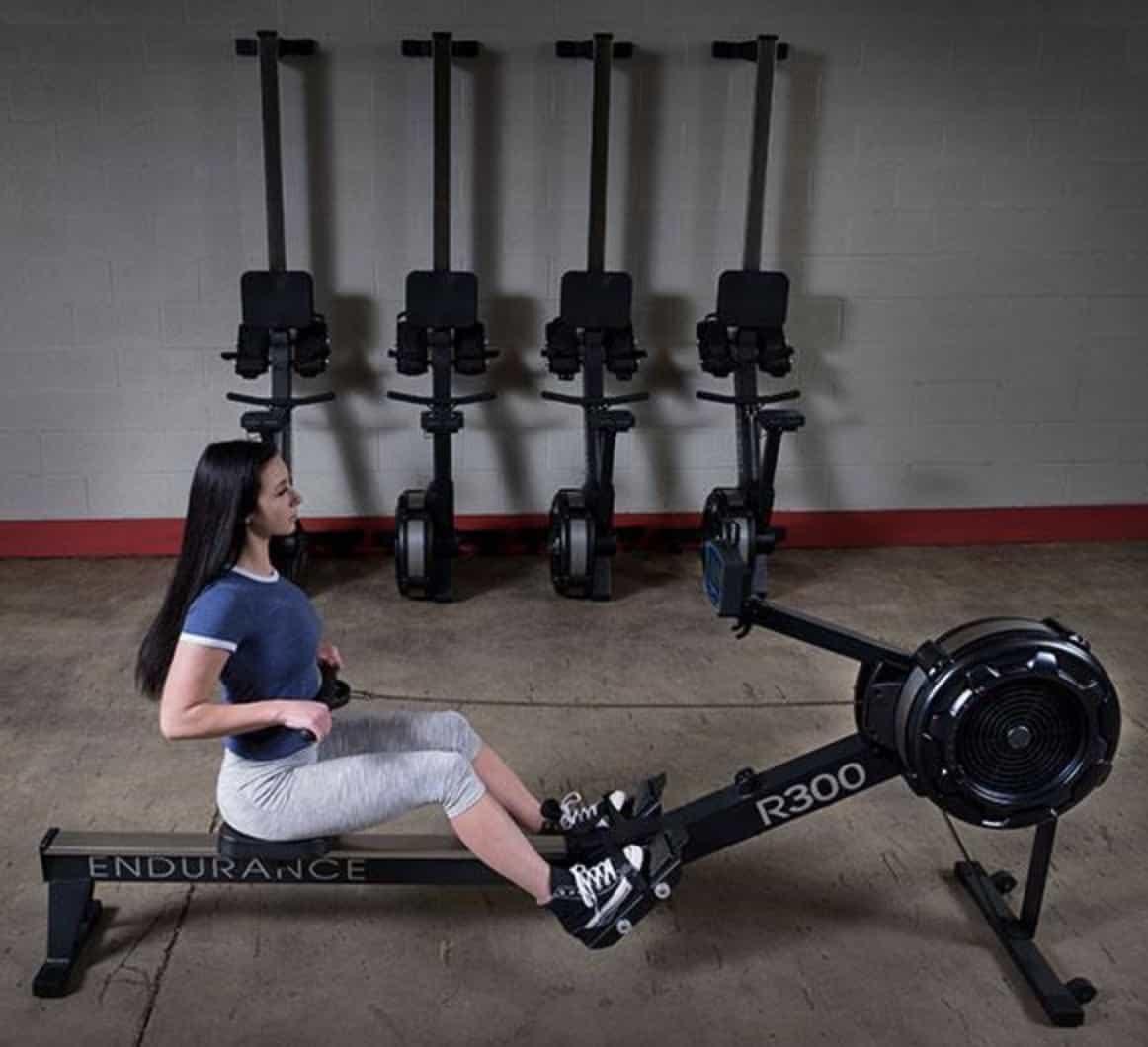 Endurance R300 Indoor Rower Storage