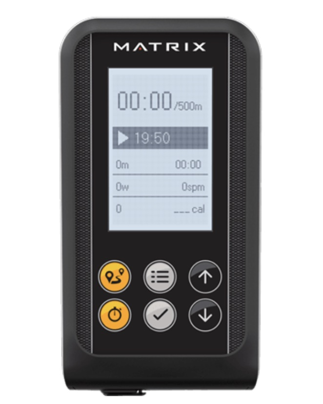 Matrix Fitness Rower Monitor