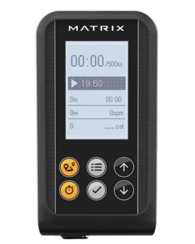 Matrix Fitness Rower Monitor