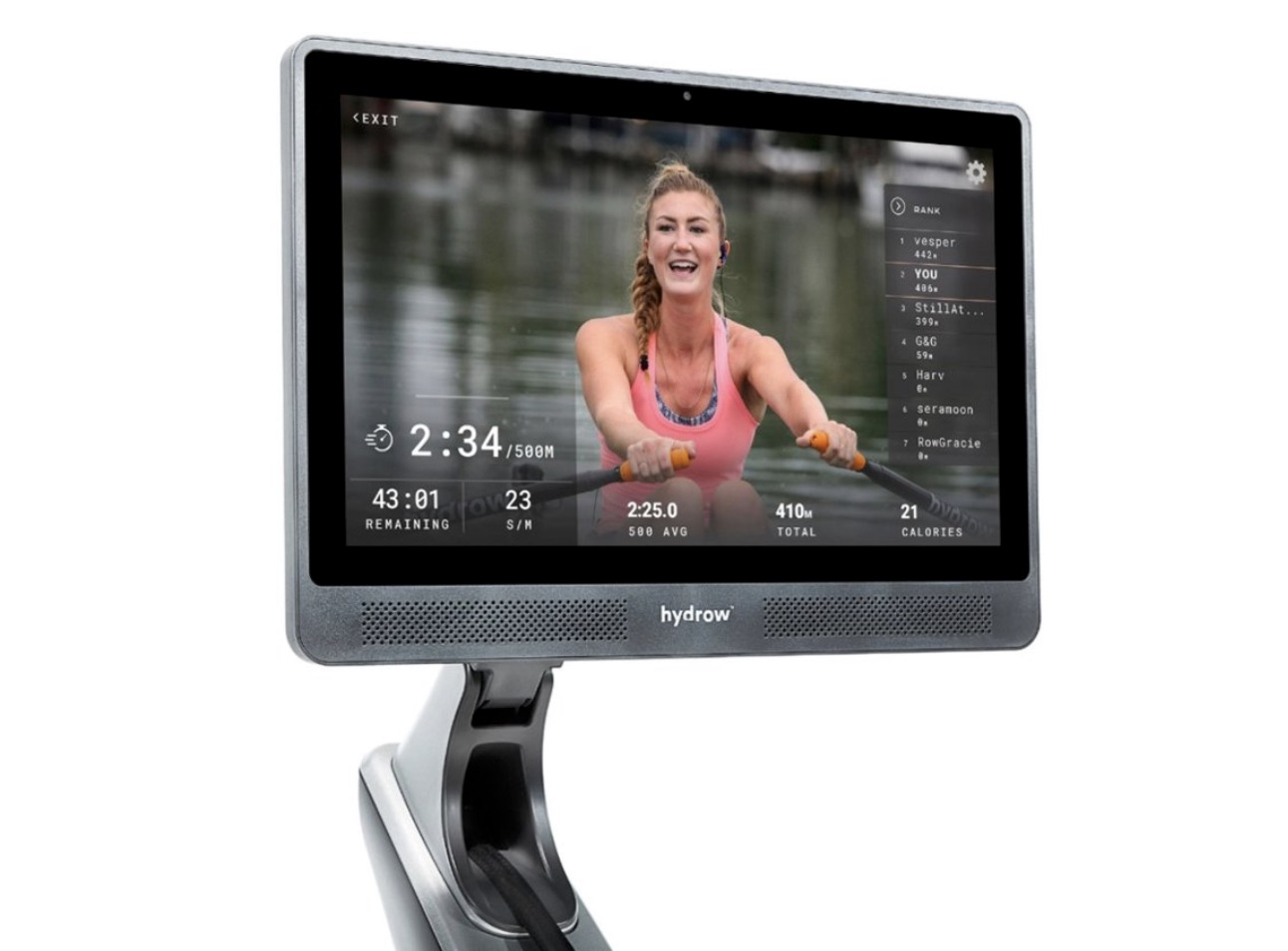 Hydrow Rowing Machine Monitor