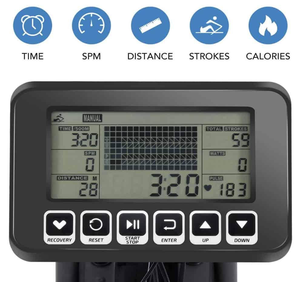 MaxKare Water Rower Monitor