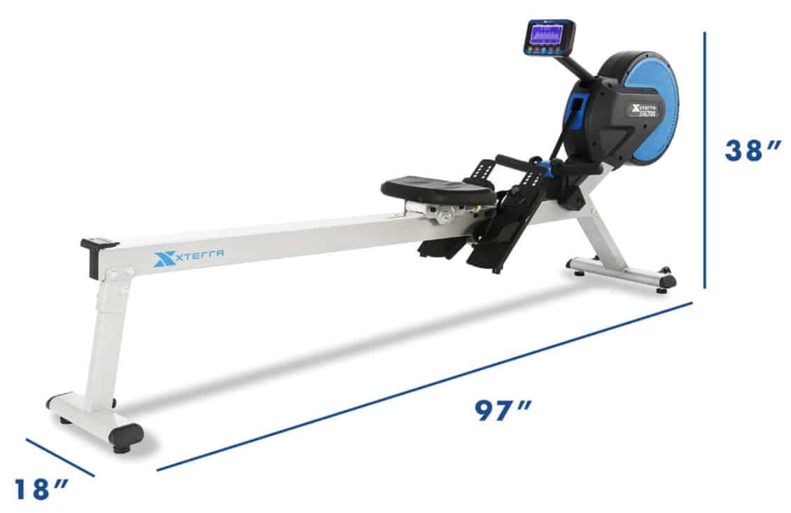 ERG700 Air & Magnetic Rower Capacity