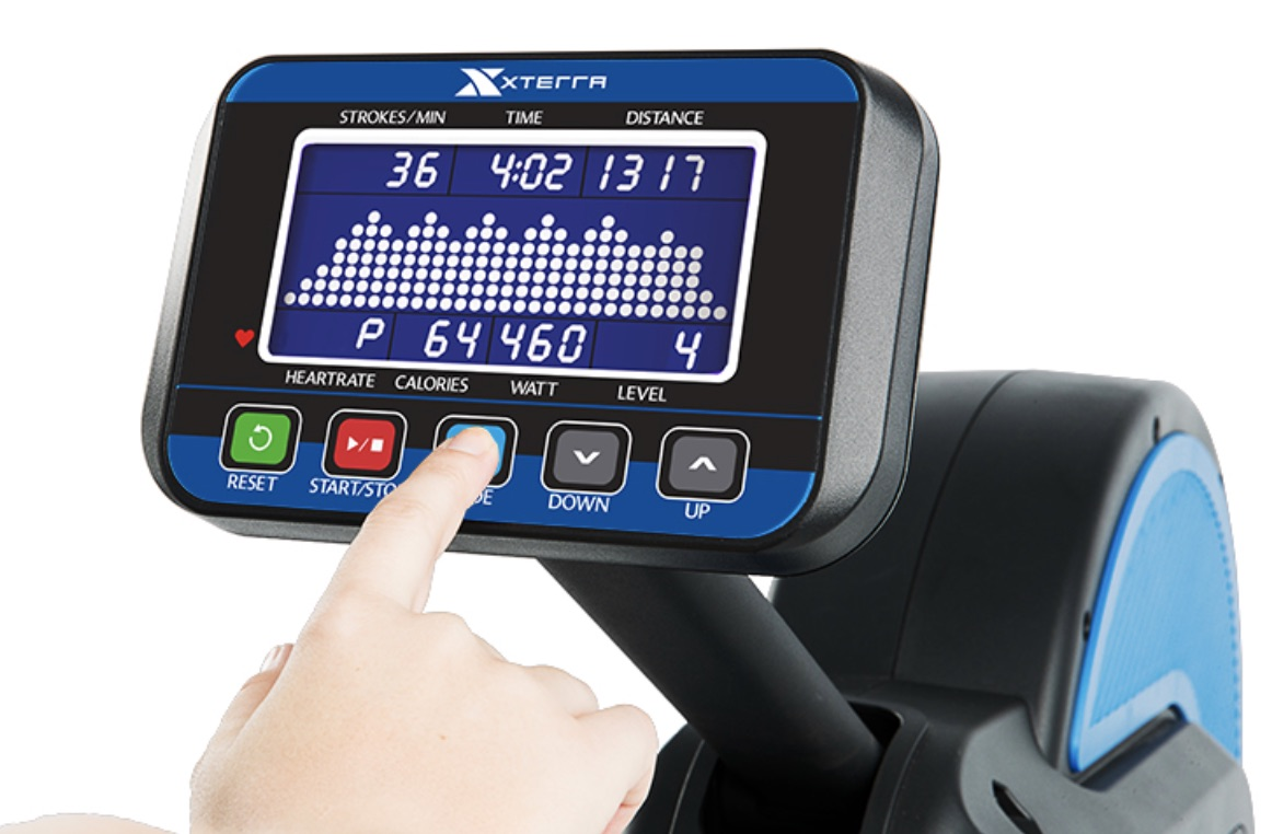 ERG700 Air & Magnetic Rower Monitor